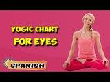 Yoga para tus ojos | Yoga for Your Eyes | Yogic Chart & Benefits of Asana in Spanish