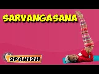 Sarvangasana | Yoga para principiantes | Yoga For Kids Complete Fitness | About Yoga in Spanish
