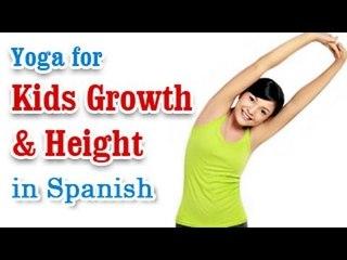 Yoga para el crecimiento de los niños | Yoga for Kids Growth & Height | Increase Height Of Children