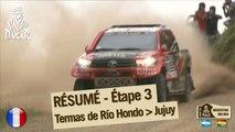 Résumé de l'étape 3 - Auto/Moto - (Termas Rio Hondo / Jujuy)