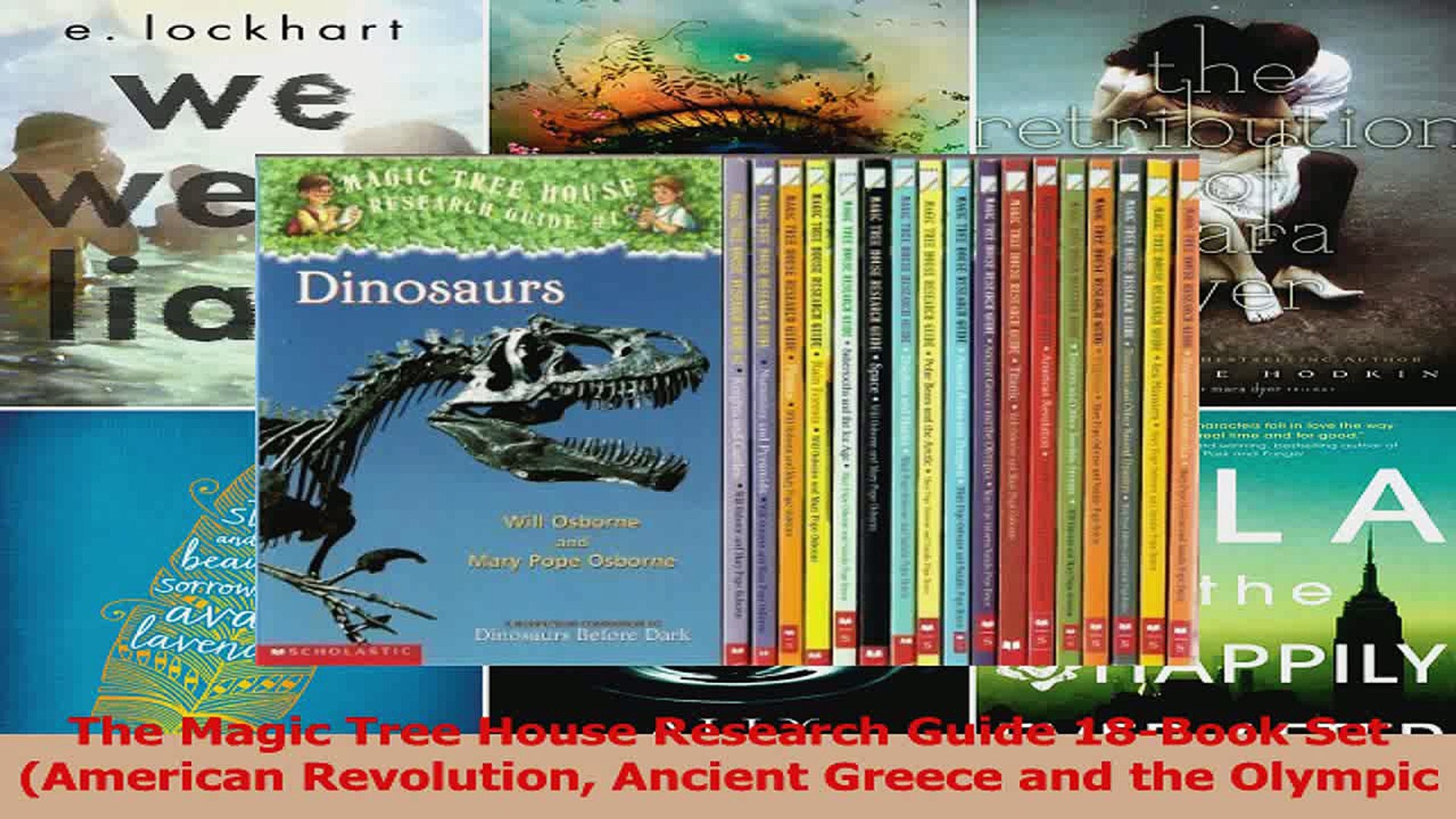 PDF Download  The Magic Tree House Research Guide 18Book Set American Revolution Ancient Greece and
