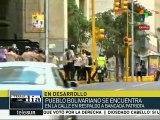 Venezuela: simpatizantes opositores realizan concentración en Caracas