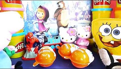 Kinder Маша и Медведь, Masha i Medved, Frozen, Disney, RIO 2, Frozen Toys, Peppa Pig