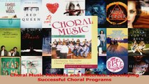 PDF Download  Choral Music Methods and Materials Developing Successful Choral Programs Read Online