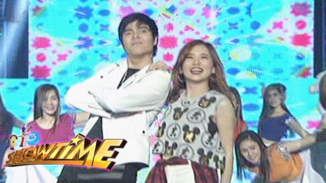It's Showtime: Upbeat performance from Ella Cruz and Paul Salas