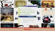 PDF Download  School Counseling and School Social Work Homework Planner Read Online
