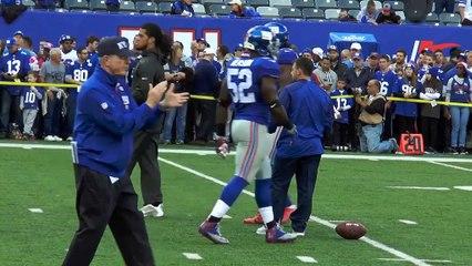 Coughlin bids Giants an emotional farewell