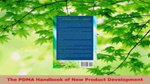 PDF Download  The PDMA Handbook of New Product Development Download Full Ebook