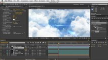 Adobe After Effects - Moving Clouds Tutorial - Cloud Paralaxing