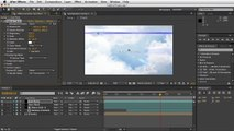 Adobe After Effects - Moving Clouds Tutorial - Curves Color Correction