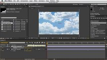 Adobe After Effects - Moving Clouds Tutorial - Dublicate Layer
