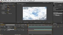 Adobe After Effects - Moving Clouds Tutorial - Flares