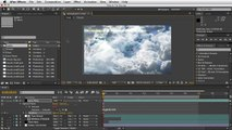 Adobe After Effects - Moving Clouds Tutorial - Items