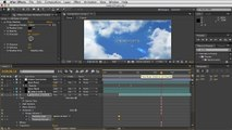 Adobe After Effects - Moving Clouds Tutorial - Layer Overview