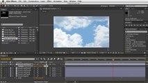 Adobe After Effects - Moving Clouds Tutorial - Many Layers