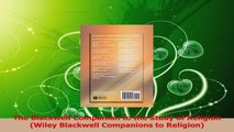 Download  The Blackwell Companion to the Study of Religion Wiley Blackwell Companions to Religion PDF Online
