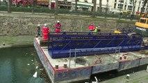 Paris : le canal Saint-Martin vidé avant son nettoyage