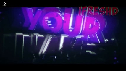 TOP 10 Intro Template #85 Cinema4D,After Effects + Free Download