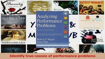 PDF Download  Analyzing Performance Problems Or You Really Oughta WannaHow to Figure out Why People PDF Online