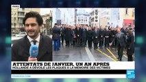 Charlie Hebdo : une faute d'orthographe sur le nom de Wolinski sur la plaque commémorative