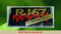 Download  RJ67 Rons Journal 67 Ebook Free