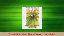 Read  True Life in God Fire of Love  Holy Spirit PDF Online