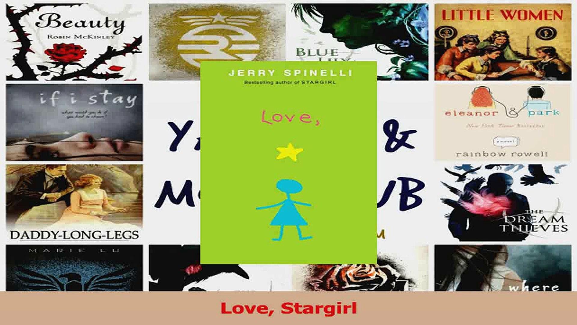 PDF Download Love Stargirl Read Full Ebook
