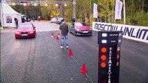 Mercedes SL 65 AMG vs BMW M3 ESS vs Porsche 911 Turbo; Nissan GT R vs BMW M3 ESS
