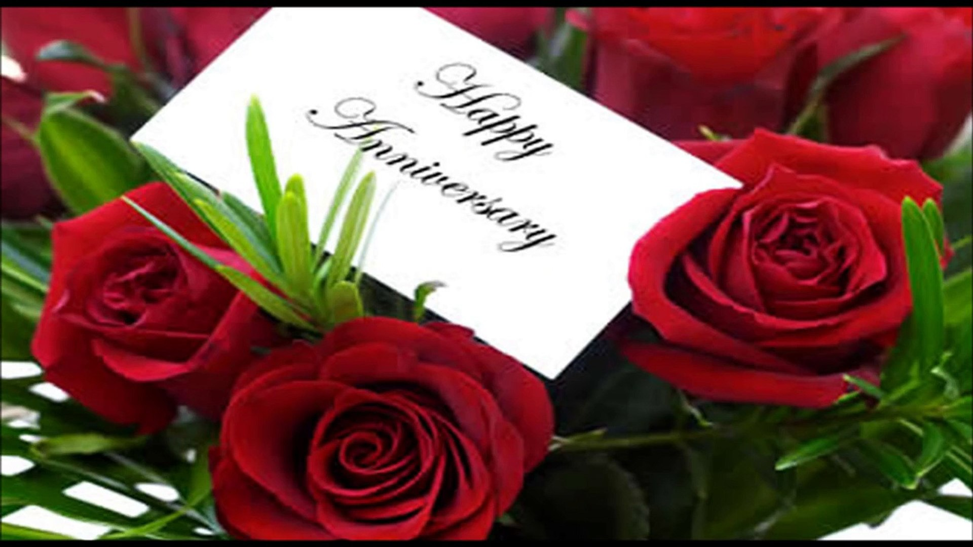 Happy Wedding Anniversary Wishes Hd Video Dailymotion
