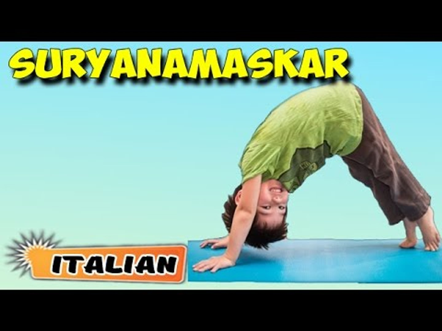 Surya Namaskar | Yoga per principianti | Yoga for Kids Obesity & Tips | About Yoga in Italian