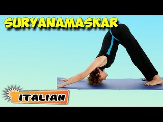 Surya Namaskar | Yoga per principianti | Yoga For Better Sex & Tips | About Yoga in Italian