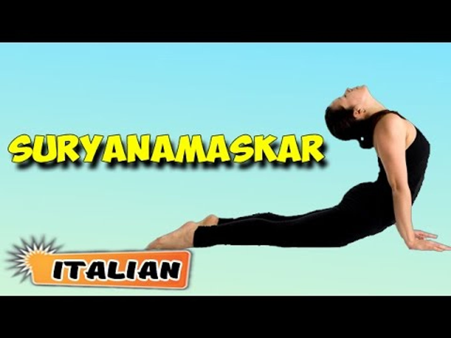 Surya Namaskar | Yoga per principianti | Yoga For Beauty & Tips | About Yoga in Italian