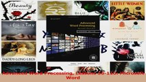 PDF Download  Advanced Word Processing Lessons 56110 Microsoft Word Download Full Ebook