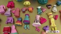 7 Poupées Princesses Disney Magiclip Vêtements Polly Pockets Séance dessayage 2