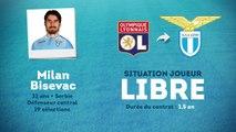 Officiel : Milan Bisevac rebondit à la Lazio !