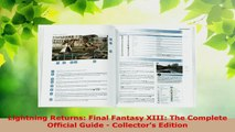 Read  Lightning Returns Final Fantasy XIII The Complete Official Guide  Collectors Edition EBooks Online