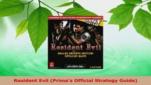 PDF Download  Resident Evil Primas Official Strategy Guide Download Online
