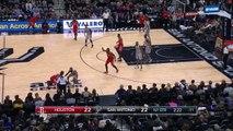 Manu Ginobilis Bullet Pass | Rockets vs Spurs | January 2, 2016 | NBA 2015-16 Season