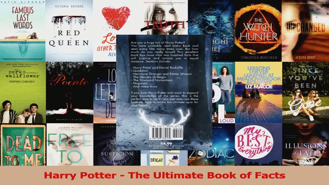PDF Download  Harry Potter  The Ultimate Book of Facts Read Online