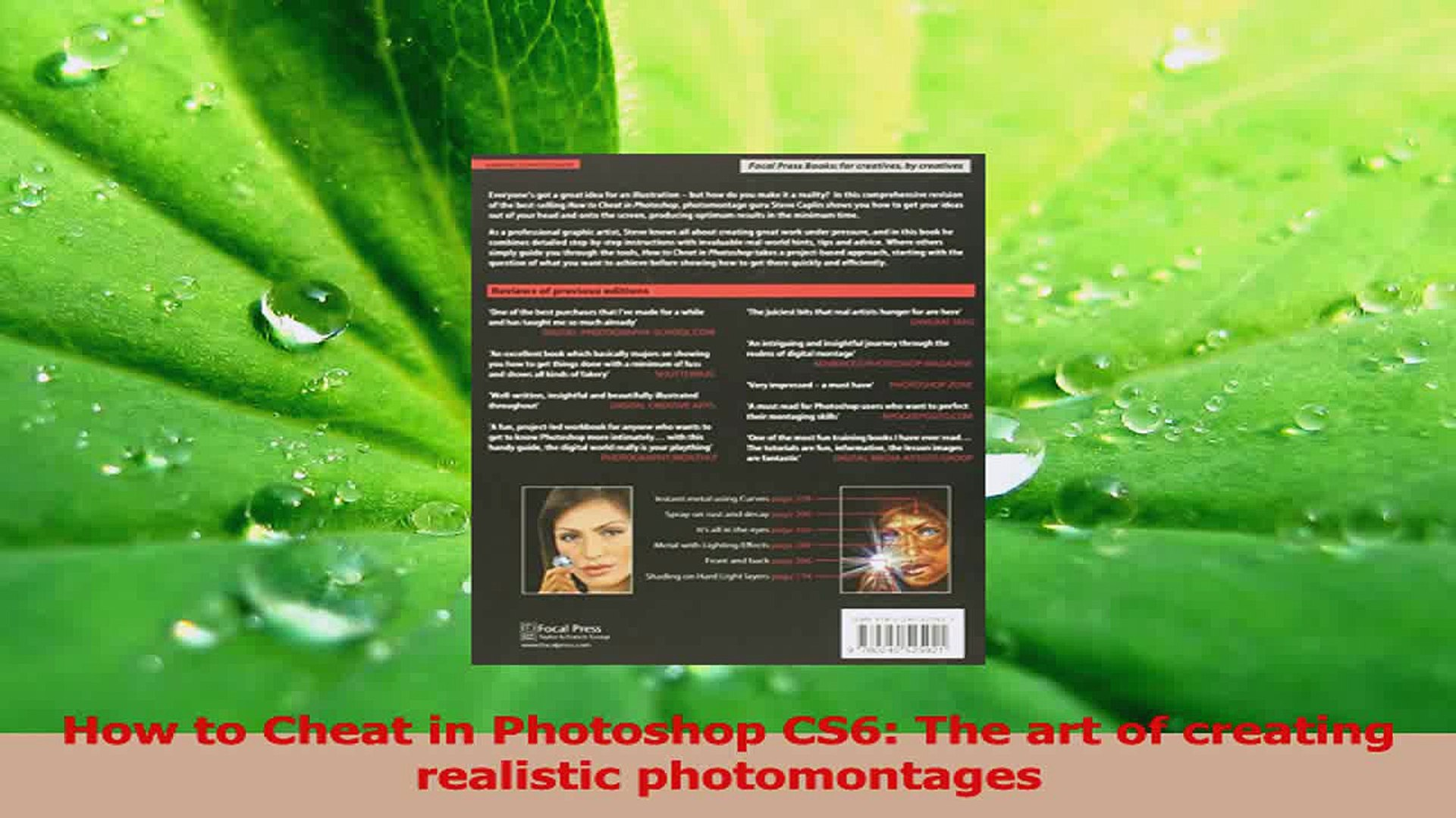 The art of creating realistic photomontages How to Cheat in Photoshop CS6