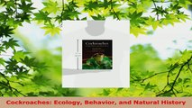 Read  Cockroaches Ecology Behavior and Natural History PDF Free