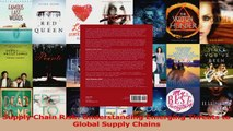 PDF Download  Supply Chain Risk Understanding Emerging Threats to Global Supply Chains Download Online