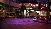 Arrivée surprise de la Mercedes Classe E dans les rues de Las Vegas