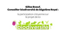 La participation citoyenne sur le projet de loi biodiversité