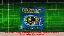 PDF Download  DB2 Universal Database SQL Developers Guide Enterprise Computing PDF Online