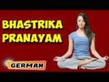 Bhastrika Pranayama | Yoga für Anfänger | Yoga Asana For Heart & Tips | About Yoga in German