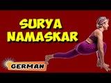 Surya Namaskar | Yoga für Anfänger | Yoga For Insomnia & Tips | About Yoga in German
