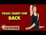 Yoga für den Rücken | Yoga For Your Back | Yogic Chart & Benefits of Asana in German