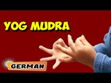 Yoga Mudra | Yoga für Anfänger | Yoga Pose For Complete Beginners & Tips | About Yoga in German