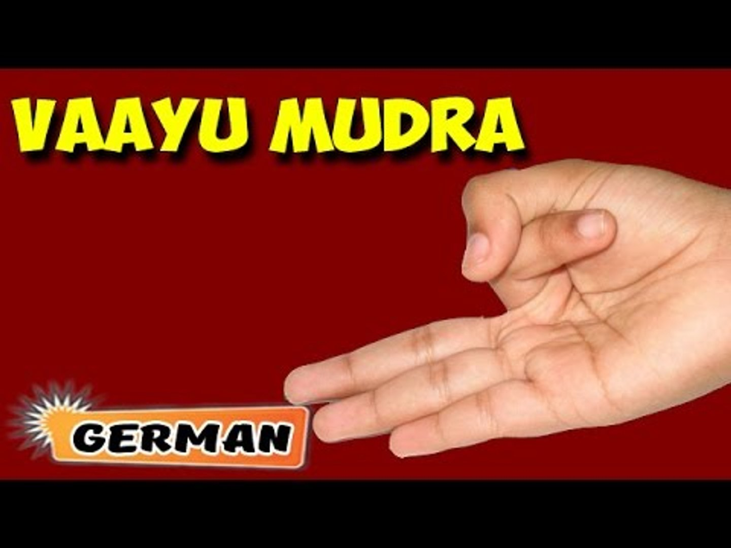 Vayu Mudra Yoga Fur Anfanger Yoga Pose For Joint Pain Arthritis About Yoga In German Video Dailymotion